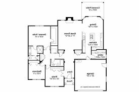 Traditional House Plans   Porterville     Associated Designs    Traditional House Plan   Porterville     Floor Plan