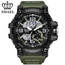 <b>SMAEL Top Brand</b> Men Sport Watch Shockproof Outdoor LED ...