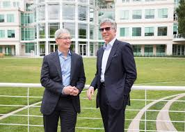 apple sap partner to revolutionize work sap news center apple ceo tim cook and sap ceo bill mcdermott meet at apple s campus in cupertino to