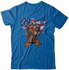 Забавный Патриот <b>такса</b> 4Th июля американский флаг футболка ...
