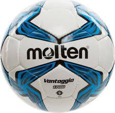 """<b>Мяч футбольный</b> """"<b>Molten</b>"""", цвет: белый, черный, синий. Размер 5 ..."""
