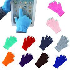 2019 New <b>1 Pair Winter</b> Gloves Soft <b>Men</b> Women Touch Screen ...