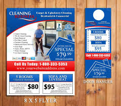 carpet cleaning door hanger flyer design done in hrs carpet cleaning door hanger flyer design done in 24hrs business marketing