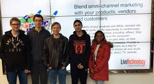 the shadows learn monroe woodbury ny local news provided photo jeremy dedel left carlos maldonado arik mozejko vasilis lymberis and jane ann leandre are some of the students beginning a job shadowing