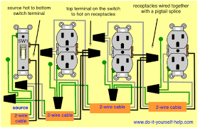 3 way switched outlet wiring diagram images outlet 3 way switches wiring diagrams for switch to control a wall receptacle do it