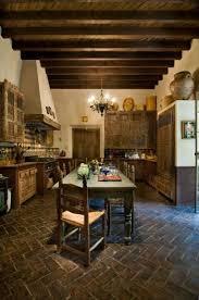 spanish revival style kitchen art