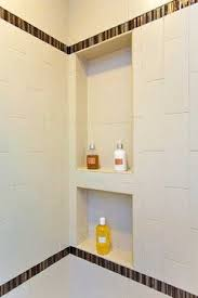 tile shower niche modern ideas bathroom shower shelving niche bench modern bathroom san francisco bil