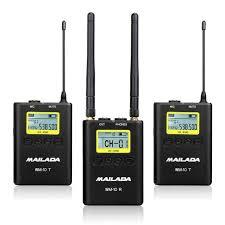 WM-10 <b>Professional</b> UHF <b>Wireless Microphone</b> Lavalier <b>Mic</b>