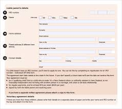 Sample Child Support Agreement - 5+ Documents In PDF,Word Voluntary Child Support Agreement Form