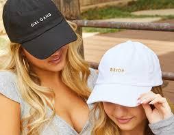Bride & <b>Girl Gang</b> Bachelorette Party Hats Perfect Beach   Etsy