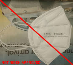 Counterfeit Respirators / Misrepresentation of NIOSH-Approval ...