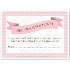 pink baby shower diaper raffle ticket insert cards diaper pink baby shower diaper raffle ticket insert pack of chubby business cards created by kat parrella this design is available on several paper types and is
