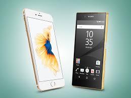 Sony Xperia Z5 Compact vs iPhone 6s | Stuff