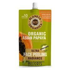 <b>Пилинг для сияния кожи</b> лица Organic asian papaya ECO ...
