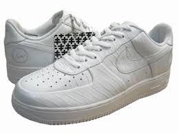nike air force antiguas air force crocodile white