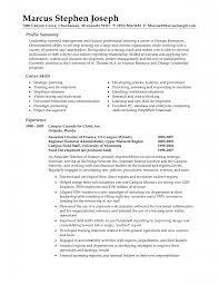 great sample profile summary include career skills list for human great sample profile summary include career skills list for human re