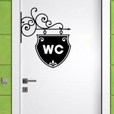 <b>YOYOYU Wall Decal Vinyl</b> Sticker Art WC Bathroom Toilet Creative ...