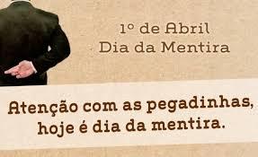 Resultado de imagen de día de la mentira en brasil