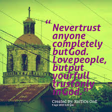 Trust God Quotes And Sayings. QuotesGram via Relatably.com