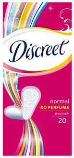 Купить <b>Discreet прокладки ежедневные</b> Normal <b>20 шт</b>. по низкой ...