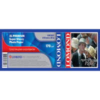<b>LOMOND XL</b> Premium Super <b>Glossy</b> Photo <b>Paper</b>, ролик 610мм*50 ...