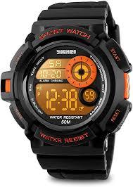 Aposon Men's Digital <b>Sports Watch LED</b> Screen Military <b>Watches</b> ...