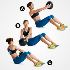 Image result for russian twist workout