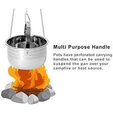 Camping Cookware Set - Compact <b>Stainless Steel</b> Campfire ...