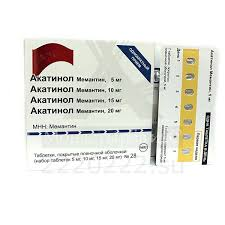 Купить <b>Акатинол Мемантин набор</b> таблетки покрытые ...