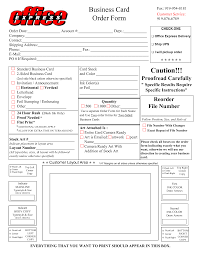 best images of business card order form template business card business card order form