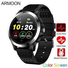 <b>Smart Watch</b> Pria W8 ECG PPG Heart Rate Bracelet Sleep Monitor ...