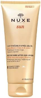<b>Nuxe Sun</b> by Nuxe <b>Refreshing After</b>-<b>Sun</b> Lotion for Face and Body ...