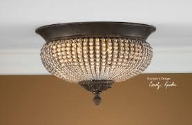 crystal flush mount ceiling light enterprise furniture astro lighting evros light crystal bathroom