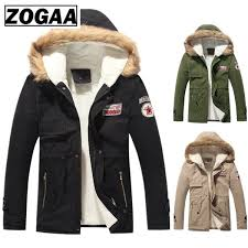 2019 <b>ZOGAA 2019 Autumn Winter</b> Parka Thick Warm Jackets Men ...