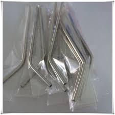 <b>2000pcs lot</b> Fast Shipping <b>6mm</b> Straight & bend Stainless <b>Steel</b> ...