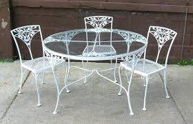 garden furniture antique antique rod iron patio