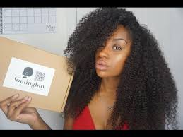 100% Human <b>Kinky Curly Lace</b> Front Wig | Comingbuy.com - YouTube