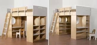 combined storage cabinet wood bunk bed with desk casa kids nursery furniture