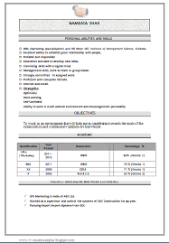 free download mba marketing fresher resume sample doc over cv and resume samples with free freshers resume samples