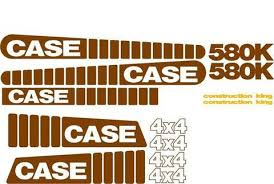 similiar case 580k decals keywords case 580k decal set