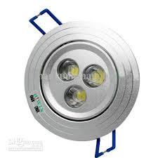 led light ceiling spot lights lamps lighting home housing cabinet 3w 85 240vac high power ceiling spot lighting