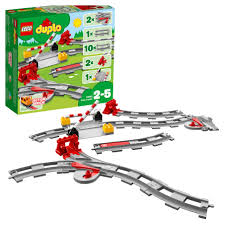 <b>Конструктор LEGO DUPLO</b> 10882 <b>Рельсы</b>, артикул: 10882 ...