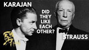 When <b>Karajan</b> met <b>Strauss</b> in person (2019) - YouTube