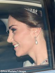 The Duchess Shines in Marchesa & Shimmering New Jewels for ...