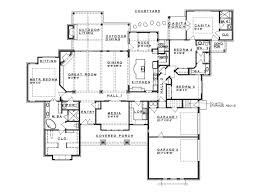 ePlans Prairie House Plan   Hill Country Fusion  Ranch Style    Level