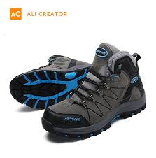 China <b>2019 Hot Sale</b> Outdoor Mens Boots Winter <b>Fashion</b> Leather ...