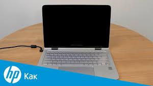 Ноутбуки <b>HP</b> - Компьютер запускается, но экран остается пустым ...
