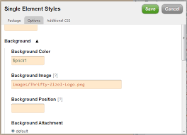 Thesis   Header CSS Background Image