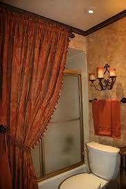 bathroom decorating ideas shower curtains tuscany shower curtain old world styled bathroom bathroom designs deco