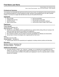resume templates  best examples for all jobseekers   resume templates 20 best examples for all jobseekers resumes samples livecareer